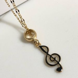 18k Gold Filled Music 🎶 Note Charm Necklace
